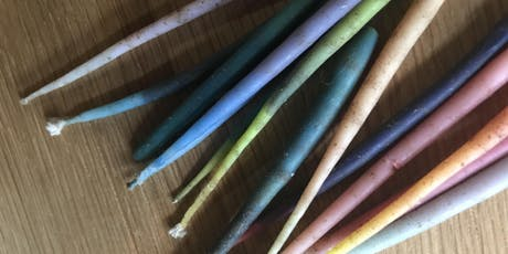 Hand Dipped Birthday Candles- FREE Drop In and Create tickets