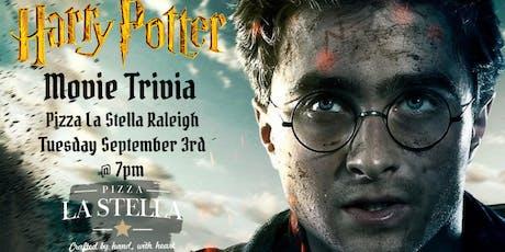 Harry Potter Movie Trivia at Pizza La Stella Raleigh tickets
