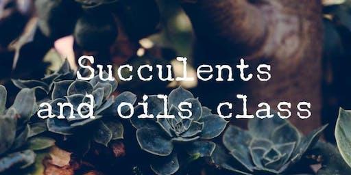 Succulent Diffuser Class