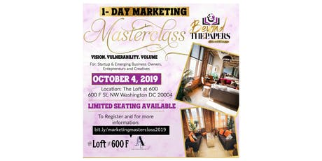 Beyond The Papers: 1-Day Marketing Masterclass (Vision. Vulnerability. Volume.) tickets