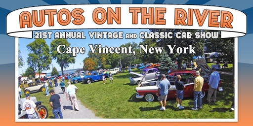 21st Annual Autos on the River - Vintage & Classic Car Show