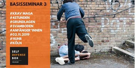 Krav Maga Basisseminar 3 - Grundlagen der Selbstverteidigung auf dem Boden Tickets