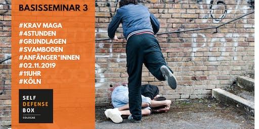 Krav Maga Basisseminar 3 - Grundlagen der Selbstverteidigung auf dem Boden