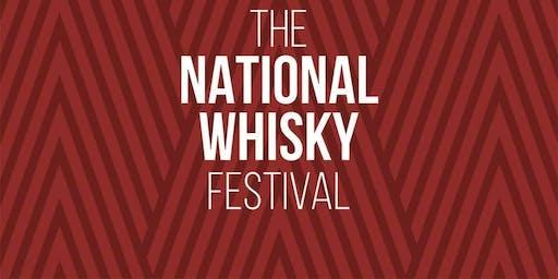 The Scotch Malt Whisky Society Pop Up Bar with the National Whisky Festival