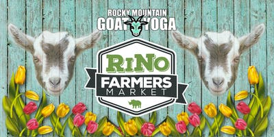 Goat Yoga - September 15th (RiNo Farmers Market)
