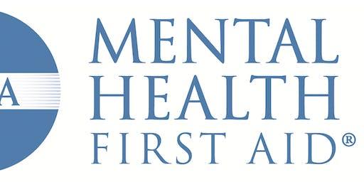 BMOC Mental Health First Aid Training on 9/4/19