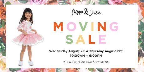 Pippa & Julie Moving Sale tickets