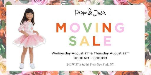 Pippa & Julie Moving Sale
