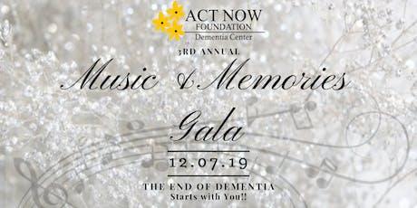 Music & Memories Gala tickets
