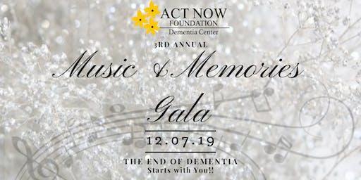 Music & Memories Gala