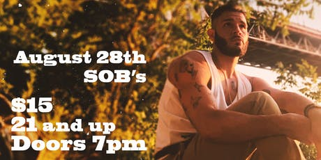 MajorStage Presents: Kamron Bahani Live @ SOBs (Early Show)  tickets