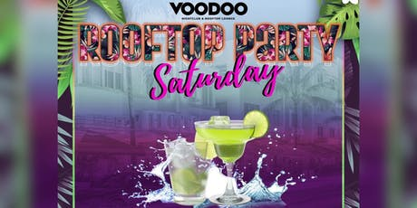 Saturday Rooftop Party - Voodoo South Beach tickets
