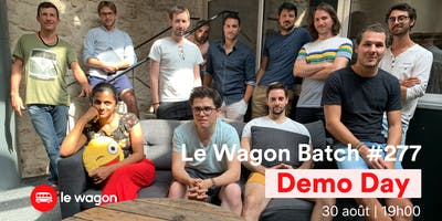 Demo Day Batch #277 du Wagon Marseille ☀️