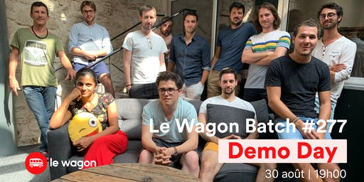 Demo Day Batch #277 du Wagon Marseille ☀️