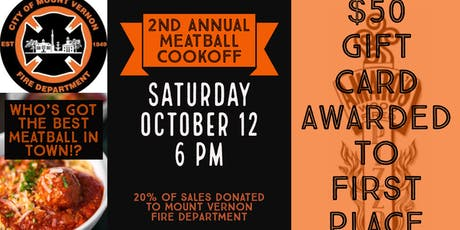 2nd Annual Meatball Cookoff tickets