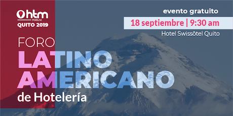 HTM Forum Quito entradas