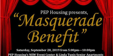 "PEP Housing presents, ""Masquerade Benefit"" tickets"