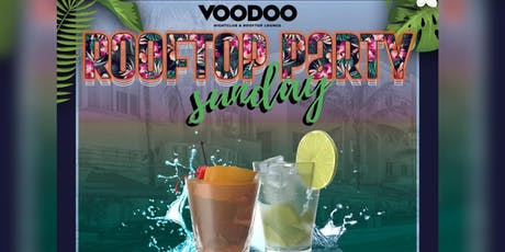 Sunday Rooftop Party - Voodoo South Beach tickets