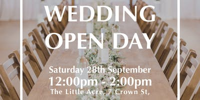 Waterfall Wedding Decor meets Hall and Co Event Design - Wedding Open Day