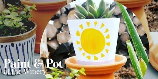 Paint & Pot - Succulents