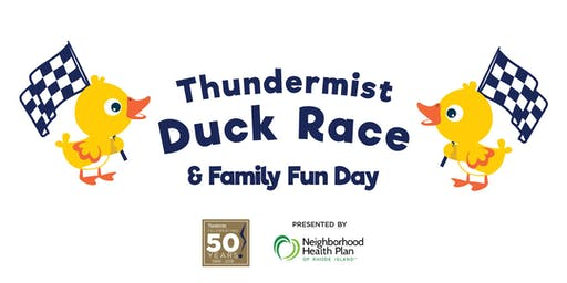 Thundermist Health Center's Duck Races