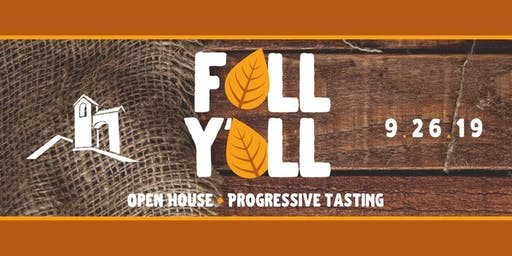 FALL Y'ALL Open House