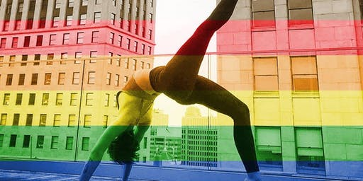 Queer Yoga in The Yard at South Bowl