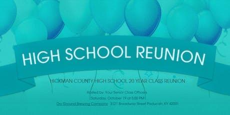 HCHS Class of 99 Reunion tickets