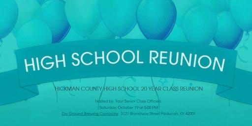 HCHS Class of 99 Reunion