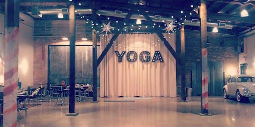 Warehouse 109  Wine & Yoga