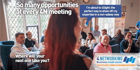 4N Networking Falkirk 3rd September 2019 tickets