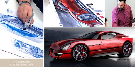 CAR DESIGN SKETCHING COURSE one week experience biglietti