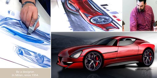 CAR DESIGN SKETCHING COURSE one week experience