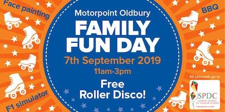 Motorpoint Oldbury Family Fun Day tickets