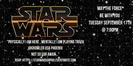 Star Wars Trivia at Growler USA Phoenix tickets