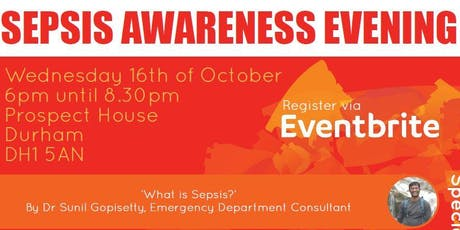 Sepsis Awareness Evening tickets