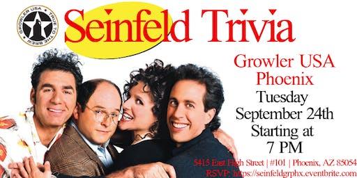 Seinfeld Trivia at Growler USA Phoenix