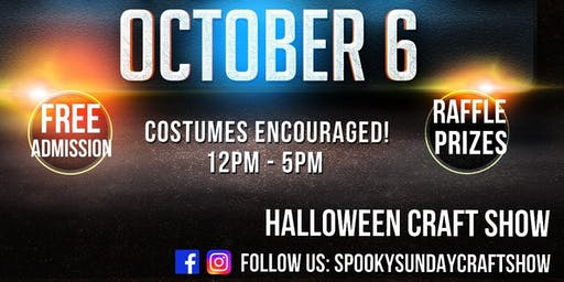 Spooky Sunday: Costumes and Crafts