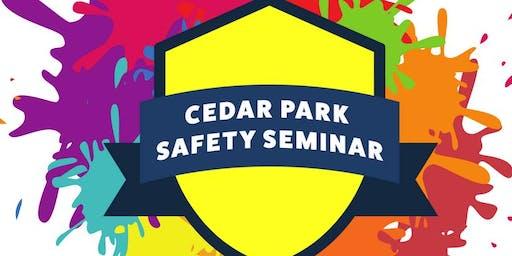 Cedar Park Student Safety Seminar: Ages 5-8