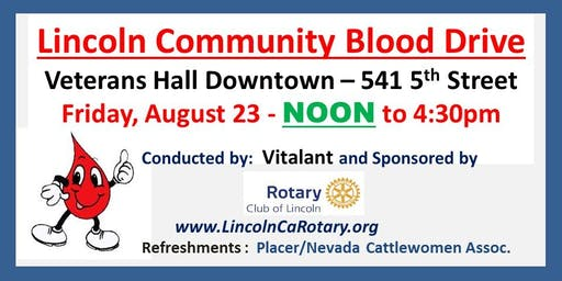 Lincoln Community Blood Drive