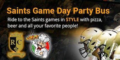 Saints vs Falcons Game Day Party Bus