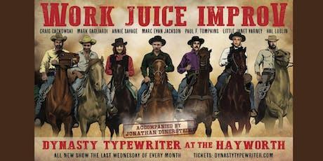 WorkJuice Improv tickets