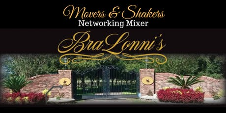Movers & Shakers Mixer- September 14, 2019 tickets