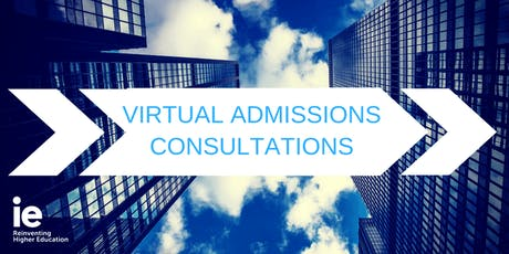 Virtual Admissions Consultation with an IE Representative - Canada tickets