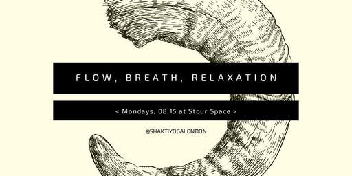 Monday Morning Flow, Breath + Relaxation