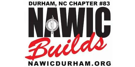 NAWIC Durham September Meeting tickets