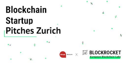 Blockchain Startup Pitches - Zürich