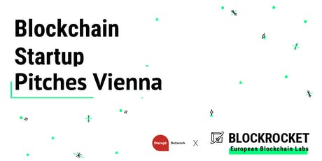 Blockchain Startup Pitches - Vienna tickets