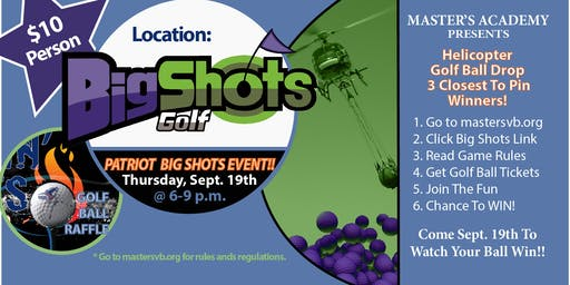 Patriot Big Shots Fun Event