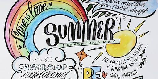 8/29   Beginner Visual Journaling Workshop   Pleasant Grove, UT